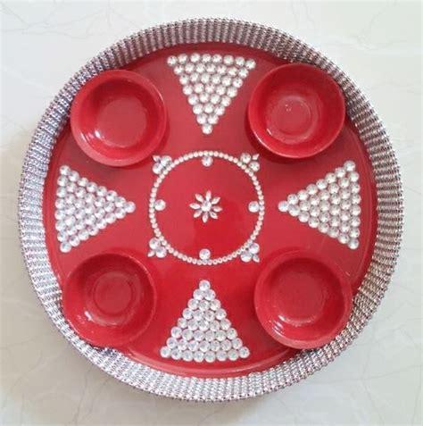 decorative aarti thali online 75 best thali decor images on pinterest
