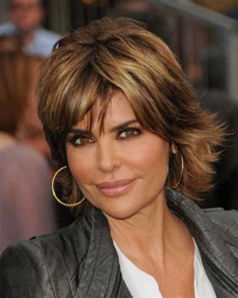 lisa rinna long layered hair 30 short shaggy haircuts style beauty