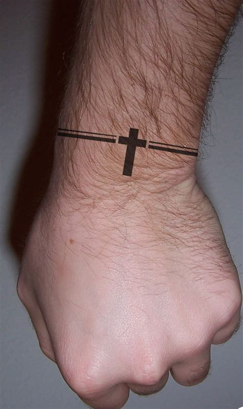 men cross bracelet tattoo tattoo idea pinterest small tattoos small tattoo designs