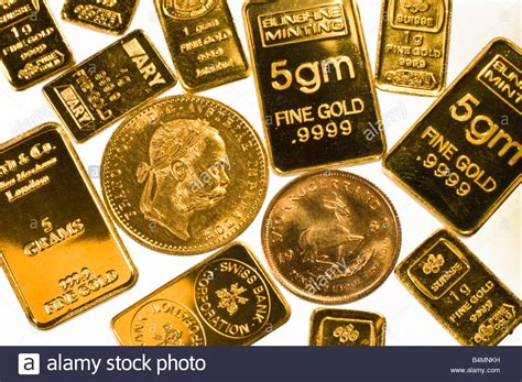 B Is For Bullion gold bullion in small bars and coins 1g 2g and 5g ingots