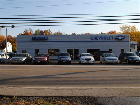 midway chevrolet car and truck dealer in orwell ohio