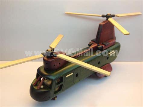 Handmade Helicopter Models - handmade wooden home decorative novel vintage helicopter