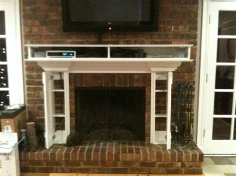 tv stand for fireplace mantel home design plan