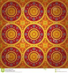 Interior Decor India Seamless Indian Texture Royalty Free Stock Image Image