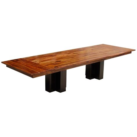 Wooden Meeting Table Sutton Wood Pedestal Large Conference Table W Extensions