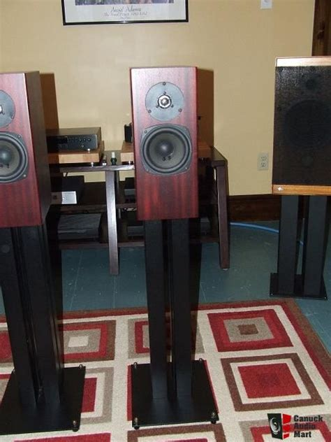 Speaker Totem Rokk totem rokk speakers and 4 post metal stands reduced photo 193848 canuck audio mart