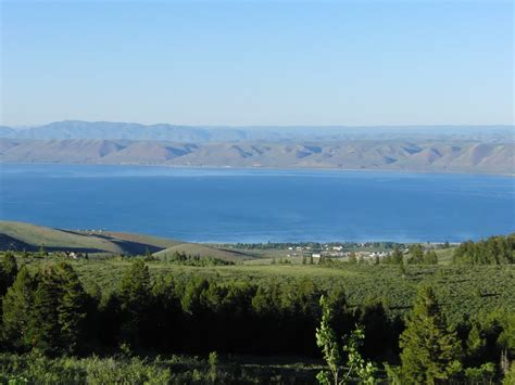panoramio photo of lake from above garden city ut