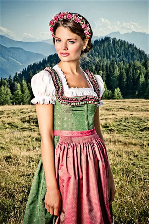a glimpse from the past german clothing dirndl