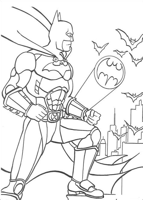 imagenes de justicia para iluminar batman liga de la justicia dibujos colorear dibujalandia