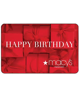 gift card birthday presents  gift card reviews  occasions gift cards macys
