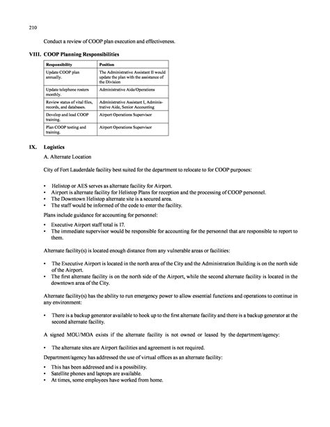 mission essential contractor services plan template image