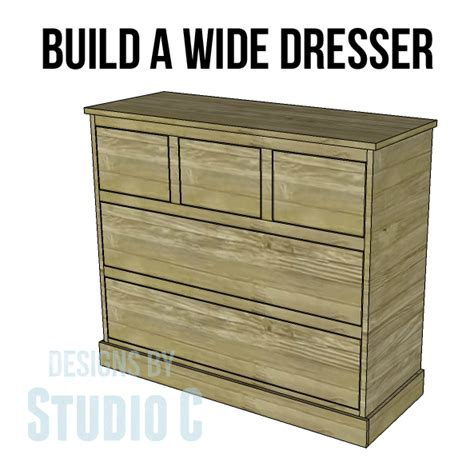 Material Chest Of Drawers by Build A Wide Chest Designs By Studio C