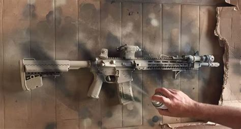 Time Lapse Footage Shows Ar 15 Paint Wide