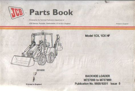 backhoe parts diagram jcb digger backhoe loader 1cx 1cx hf parts manual