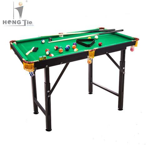 foldable adjustable legs of billiard table children