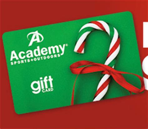 Academy Gift Cards - win a 1 500 academy gift card sweep geek
