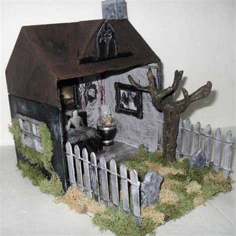 haunted house diorama flickr photo sharing pin dioramas on pinterest
