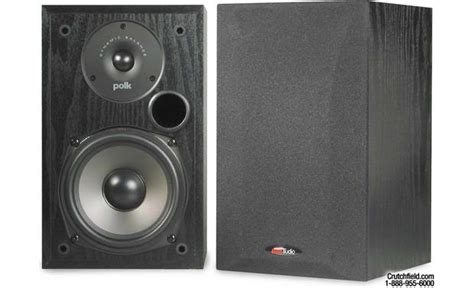 polk audio r15 bookshelf speakers at crutchfield