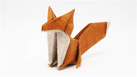 Origami Jo Nakashima - origami fox jo nakashima