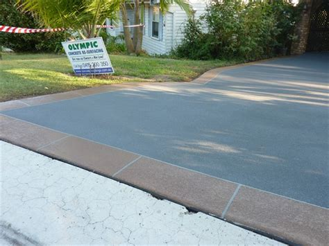 Oc Decorative Concrete olympic concrete resurfacing new driveways stenciling
