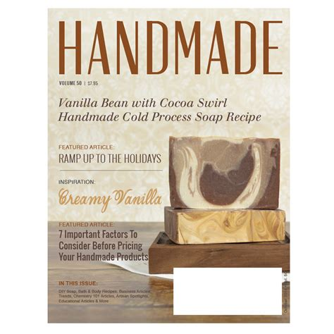 Handmade Soap Book - books soap