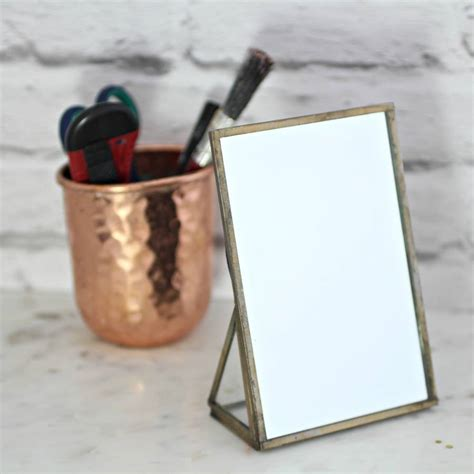 desk mirror with stand brass standing desk mirror by posh totty designs interiors