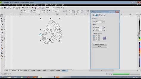 desain kaos dengan corel draw x7 learn coreldraw tutorial in hindi arrange menu