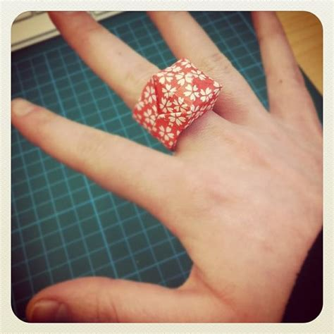 paper ring origami