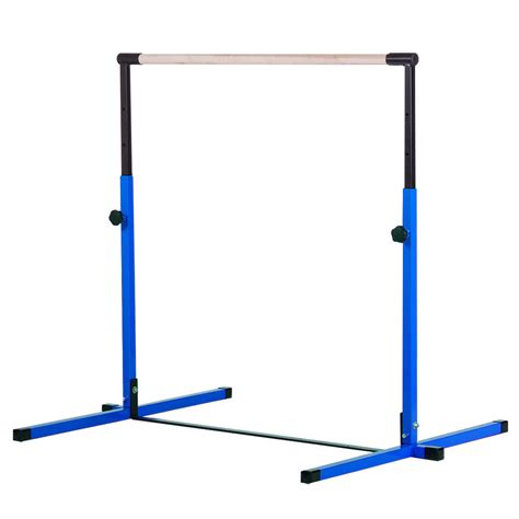 new nimble sports blue adjustable horizontal bar