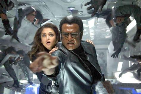 film robo queen rajini and aishwarya latest still in robot movie reigning