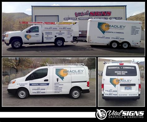 Bradley Heating And Plumbing by Portfolio Vital Signs Signs Banners Stickers