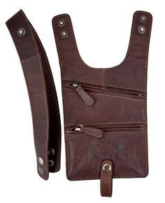Premium Leather Gn 9009 leather holster bag deluxe leather shoulder holster bag made in holsters shoulder