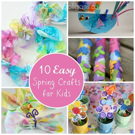 springtime crafts for crafts for 10 easy craft ideas