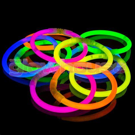 glow bracelets 100 glowhouse premium glow stick bracelets glow sticks ebay