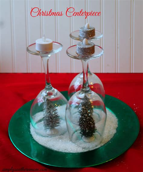 how to make a centerpiece how to make a simple holiday tree christmas centerpiece