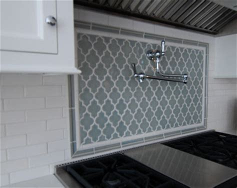 Moroccan Tiles Kitchen Backsplash Backsplash On Arabesque Tile Arabesque And Kitchen Backsplash