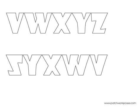 printable letter templates for sewing 68 best alphabets images on pinterest cursive letters