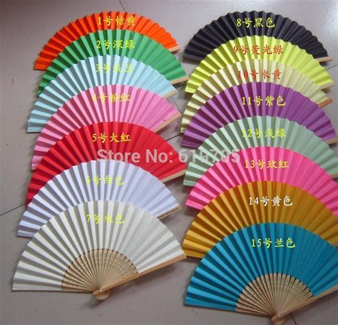personalized folding fans wholesale 2017 personalized paper blank folding hand fans for