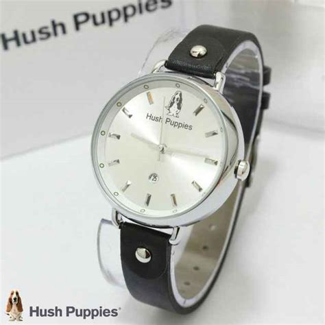 Jam Tangan Hush Puppies Original jual jam tangan hush puppies 3802 ring silver tali kulit