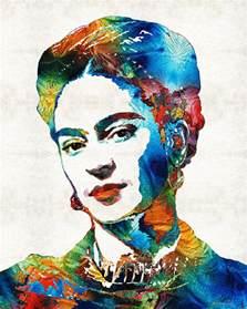 Heather Duvet Cover Frida Kahlo Art Viva La Frida By Sharon Cummings