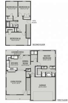 dsld homes floor plans oakley ii c floor plandsld homes homes pinterest