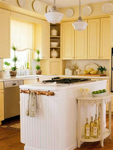 Small Country Kitchen Decorating Ideas | small country kitchen cabinets design ideas small country