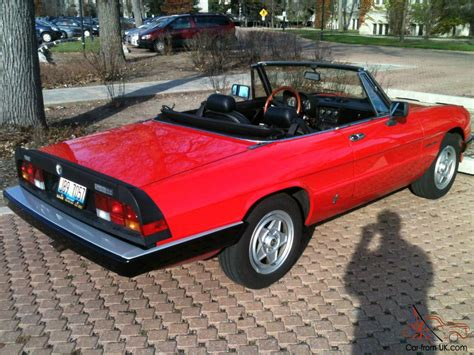 Alfa Romeo Spider Veloce by 1985 Alfa Romeo Spider Veloce