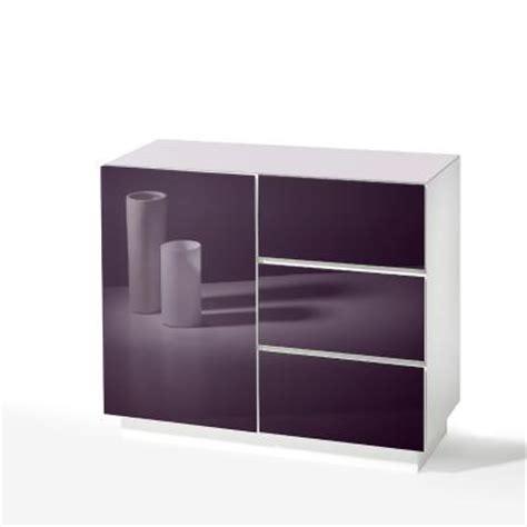 schrank mit glasfront top sideboard weiss mit glasfront lila kommode anrichte