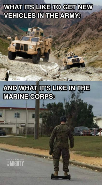 Army Memes - army marine corps new vehicles funniest military memes