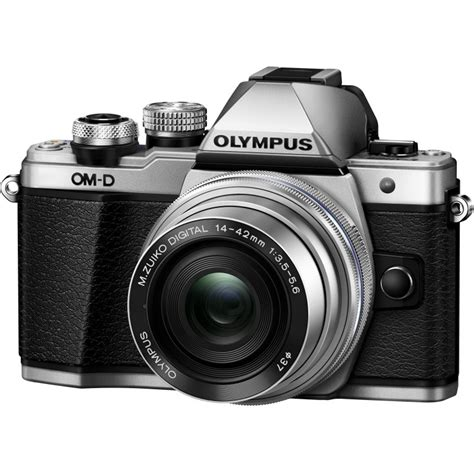 Olympus Om D E M10 Kit 14 42mm Ez 17mm F28 olympus om d e m10 ii 14 42mm ez kit silver mirrorless cameras photopoint