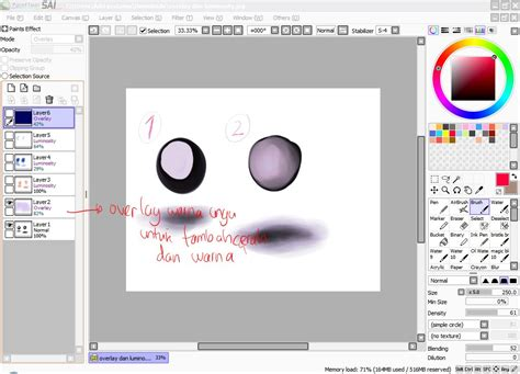 paint tool sai 2 paint tool sai simple painting tutorial 2 by prime512