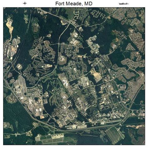 maryland map fort meade aerial photography map of fort meade md maryland