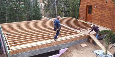 Framing A Floor by Benson Builders Inc Construction