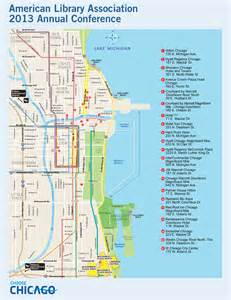 Chicago Hotel Map by Downtown Chicago Map Pdf